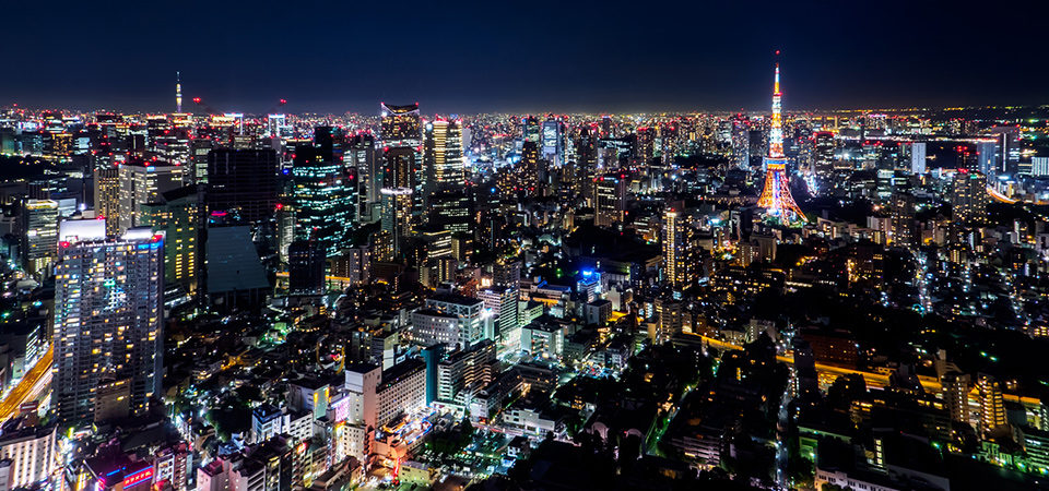 Tokyo City View At The Roppongi Hills Observatory Let S